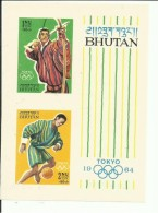 BHUTAN YVERT H/B 1 (SIN DENTAR)  MNH  ** - Bhutan