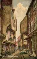 MISCELLANEOUS ART - YORK - THE SHAMBLES  Art282 - York