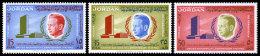 Jordan, 1962, UN Secretary General Dag Hammarskjold, MNH Set, Michel 375-377A - Jordanie