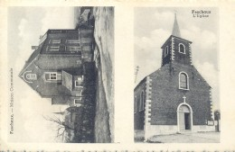 FESCHAUX. Carte Double. Postée à Beauraing 1957 - Non Classés