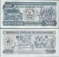 Mozambique 1983 - 500 Meticais - Pick 131 UNC - Mozambique