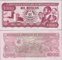 Mozambique 1989 - 1000 Meticais - Pick 132 UNC - Mozambique