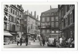"""Cpsm: 57 THIONVILLE - La Place Au Bois (Magasin """"Aux Halles"""" Voitures, Traction) N° 70 (rare) - Thionville"""