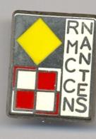 Pin's R.M.C.C.N. Nantes Rail Modèle Club Des Cheminots Nantais Années 1990 - Transports