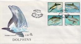 Transkei Set FDC - Dolphins