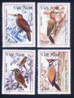Vietnam Viet Nam MNH Perf Stamps 1999 : Woodpecker / Bird (Ms805) - Vietnam