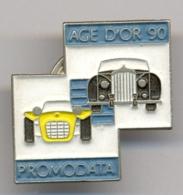 """Pin Promodata De Promotion De La Course Automobile L'Âge D'or 90"""" Monthléry - Pin's"""