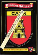 89-CAEN - BLASON -ECUSSON HERAIDIQUE - Caen