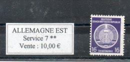 RDA. Timbre De Service. 16 Pf - Service