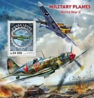 SIERRA LEONE 2016 - Planes Of World War II, S/S. Official Issue. - 2. Weltkrieg