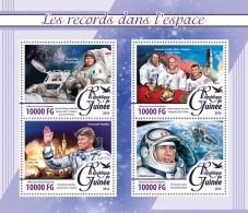 GUINEA 2016 - Records In Space. Official Issue