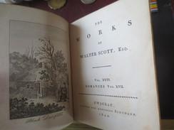 THE WORKS OF WALTER SCOTT- 1822- VOL XXVI ROMMANCES VOL.XVII - Culture