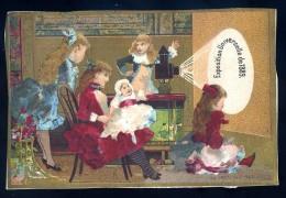 Chromos Exposition Universelle 1889 Lanterne Magique -- Lithographie Artistique Minot & Cie CHR1 - Chromos