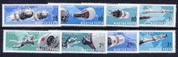 HUNGARY 1966 Manned Space Flight Set MNH / **.  Michel 2299-306 - Hungary