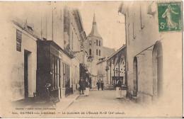 GUITRES PRES LIBOURNE LE CLOCHER DE L'EGLISE - France