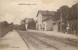 88 - Chatenois - Gare - Chemin De Fer - Ligne Chaumont à Neufchateau - Epinal - Gares - Sans Trains