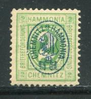 D.Privatpost / Chemnitz, Hammonia, 2 Pfg. * (11079) - Private