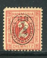 D.Privatpost / Chemnitz, Hammonia, 2 Pfg. (*) (11080) - Private