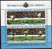 Saint Marin 1990 - Bloc Yv.no.16 Neuf** - Blocs-feuillets