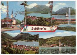 Schliersee , Mehrbildkarte - Schliersee