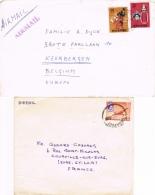BR 778 SINGAPORE 2  BRIEVEN  ZIE SCAN - Singapour (1959-...)
