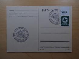 Cover Briefumschlag Germany Deutschland Deutsches Reich Braunau Am Inn Fuhrers Geburtstag Dienstmarke Mi D135 1938 - Postzegels