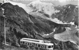 DEPT 74 - LES HOUCHES MONT BLANC - Le Tramway Du Mont Blanc - Glacier De Bionnassay - SM - - Autres Communes