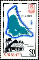 HOUSE OF ASSEMBLY-ARCHIPELAGO-TARAWA-KIRIBATI-SCARCE-MNH-TP-210 - Kiribati (1979-...)