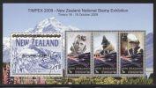 New Zealand - 2009 Edmund Hillary Näytt.block MNH__(THB-4233) - Hojas Bloque