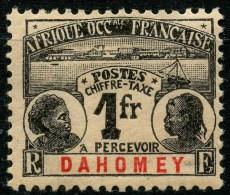 Dahomey (1906) Taxe N 8 * (charniere)