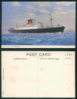 BARCOS SHIP BATEAU PAQUEBOT STEAMER [BARCOS #0389] - CUNARD R.M.S. RMS - PARTHIA - Dampfer