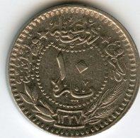 Turquie Turkey 10 Para 1327 / 7 - 1915 El Ghazi KM 768 - Turquia