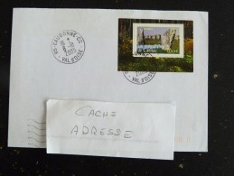 EAUBONNE CC - VAL D OISE - CACHET ROND MANUEL SUR YT 3819 MEGALITHES CARNAC - Marcophilie (Lettres)