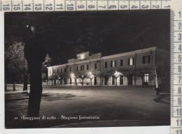 Avezzano Di Notte Stazione Ferroviaria Vg  1955 - Avezzano