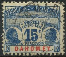 Dahomey (1906) Taxe N 3 (o) - Dahomey (1899-1944)