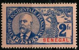 Senegal (1906) N 45 * (charniere)