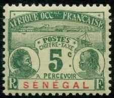 Senegal (1906) Taxe N 4 * (charniere)