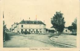 """CPA FRANCE 25 """" Pontarlier, La Place Morand"""" - Pontarlier"""