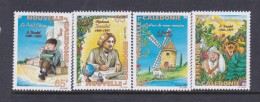 New Caledonia SG 1091-94 1997 Death Centenary Of Alphonse Daudet MNH - New Caledonia
