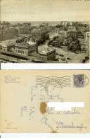 Genova: Piazza Della Vittoria. Cartolina B/n Cartonato Vg 1958 - Genova (Genoa)