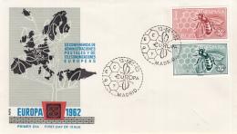 Spanje - FDC 13-1-1962 - Europa/CEPT - M 1340-1341 - 1962
