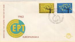 Nederland - FDC 17-9-1962 - Europa/CEPT - M 782-783 - 1962