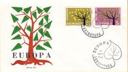 Luxemburg - FDC 17-9-1962 - Europa/CEPT - M 657-658 - 1962