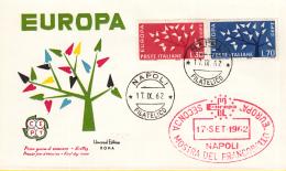 Italië - FDC 17-9-1962 - Europa/CEPT - M1129-1130 - 1962