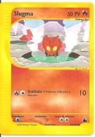 POKEMON SLUGMA 50 PV 99/144 COMUNE ITALIANO 2003 - Pokemon