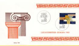 Liechtenstein - FDC 26-8-1963 - Europa/CEPT - M 431 - Europa-CEPT