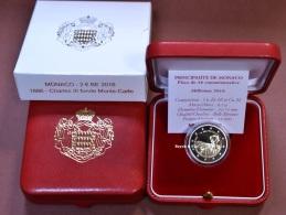 2016 MONACO BE 2 EURO 150 JAHRESTAG DER GRUNDUNG MONTE-CARLO CHARLES III 15000 MUNZEN - Monaco