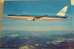 AIRLINES ISSUE / CARTE COMPAGNIE     KLM   B 767 - 1946-....: Ere Moderne