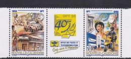New Caledonia SG 1158-59 1998 40th Anniversary OPT MNH - New Caledonia