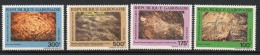 1991 Gabon Fossils   Complete Set Of 4   MNH - Gabon (1960-...)
